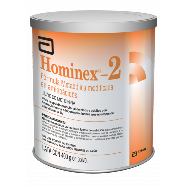 Hominex-2 Lata Con 400 g De Polvo Caja Con 6 Latas