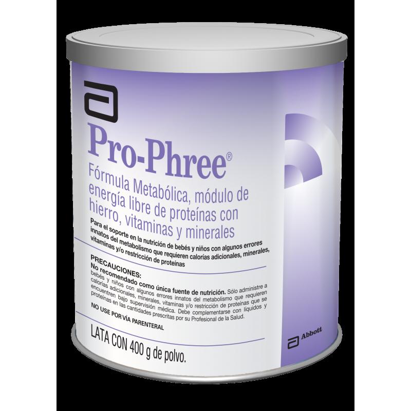 Pro-Phree Lata Con 400 g De Polvo Caja Con 6 Latas