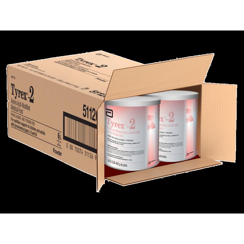 TYREX-2 Caja Con 6 Unidades Por 400 g