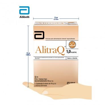 Alitraq 76 g Con 6 Sobres Sabor Vainilla