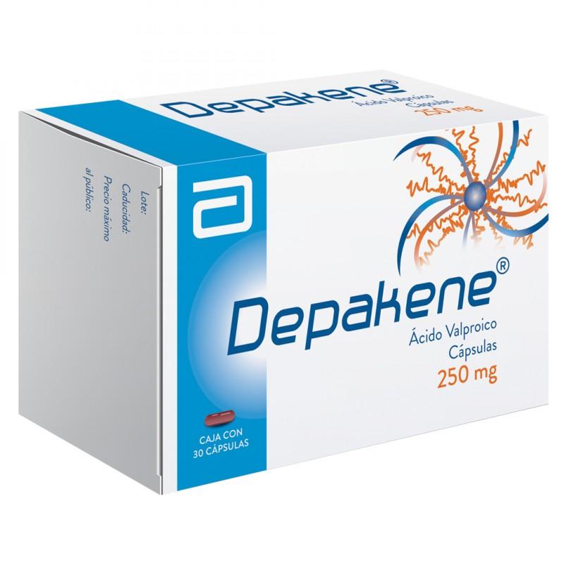Depakene 250 mg Caja Con 30 Capsulas