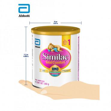 Similac Total Comfort - Etapa 1, Formula Infantil en Polvo de Facil Digestion - 0 a 12 Meses - 360g