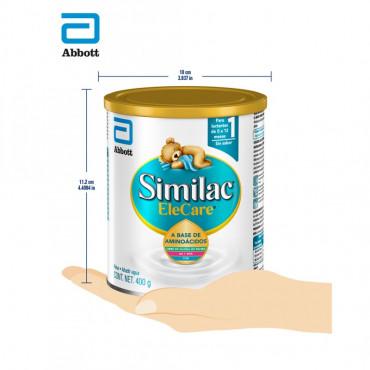Elecare Formula Infantil con Hierro para Lactantes a Base de Aminoacidos - 400g