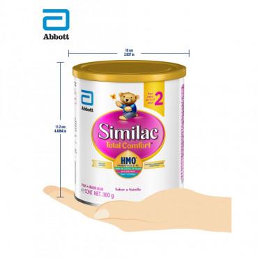 Similac Total Comfort - Etapa 2, Formula Infantil en Polvo de Facil Digestion - 1 a 3 años - 360g