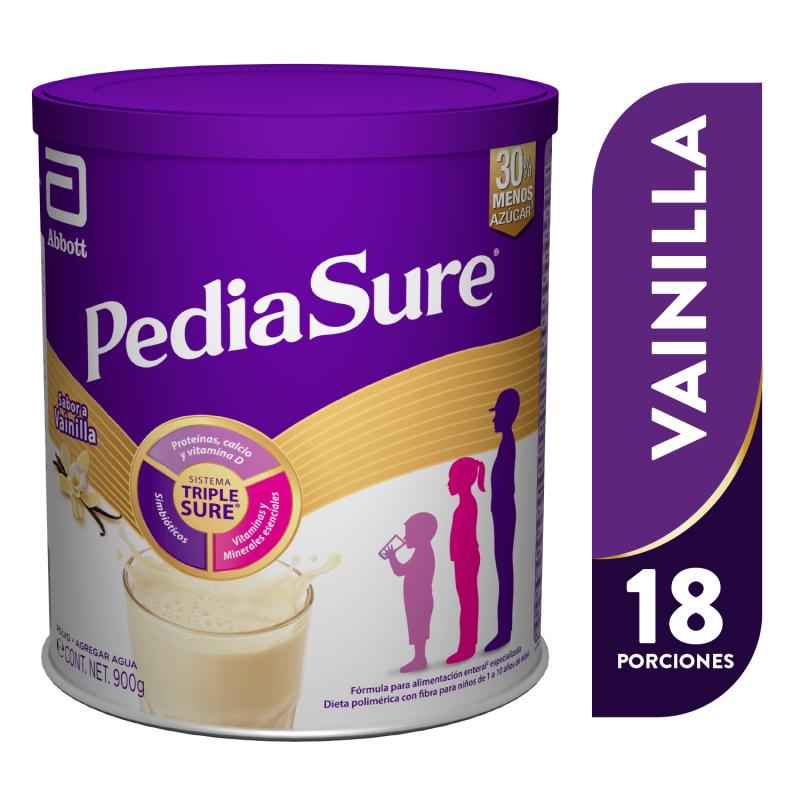 Pediasure Alimentacion Especializada en Polvo para niños de 1 a 10 Años - Vainilla - 900g