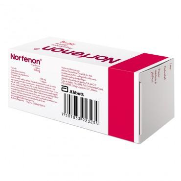 Norfenon 150 mg Caja Con 30 Tabletas