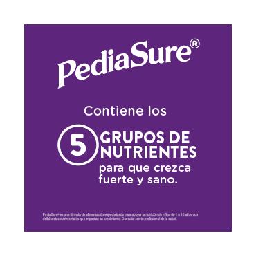 Pediasure Alimentacion Especializada en Polvo para Niños de 1 a 10 Años Fresa 400g