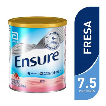 Ensure Alimentacion Especializada en Polvo Para Cualquier Momento del Dia - Fresa - 400 g