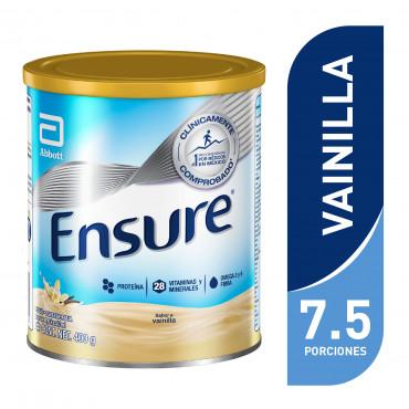 Ensure Alimentacion Especializada en Polvo Para Cualquier Momento del Dia - Vainilla - 400 g