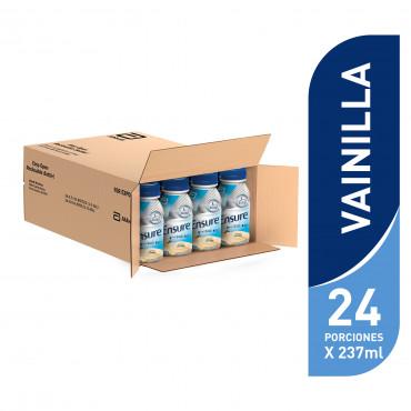 Ensure Alimentacion Especializada Para Cualquier Momento del Dia - Vainilla - 237 mL - 24 piezas