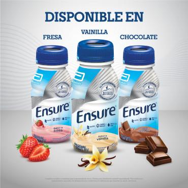 Ensure Alimentacion Especializada Para Cualquier Momento del Dia - Fresa - 237 mL - 24 piezas