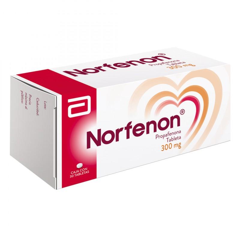 Norfenon 300 mg Caja Con 30 Tabletas