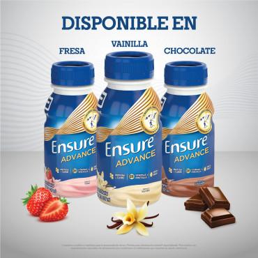 Ensure Advance Alimentacion Especializada Liquida unica con HMB - Vainilla - 237mL - 16 piezas