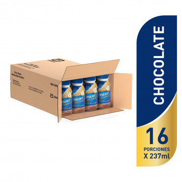 Ensure Advance Alimentacion Especializada Liquida Unica con HMB - Chocolate - 237 mL - 16 piezas