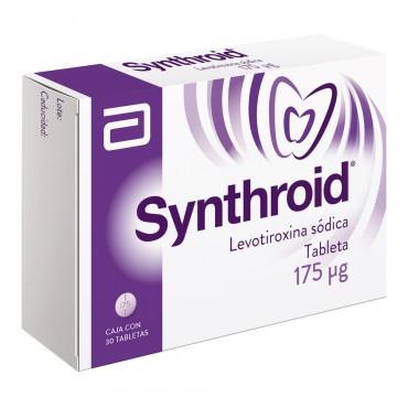 ¡Paga 1 Lleva 2! Synthroid 175 mcg Caja Con 30 Tabletas