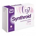 ¡Paga 1 lleva 2! Synthroid 112 mcg Caja Con 30 Tabletas