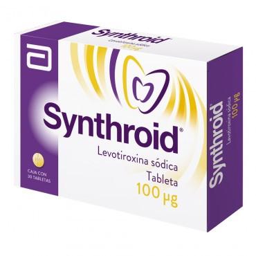 ¡Paga 1 lleva 2! Synthroid 100 Mcg Caja Con 30 Tabletas