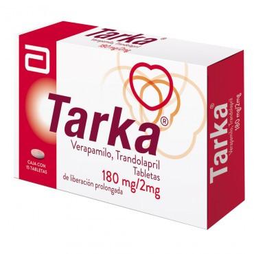 Tarka 180 mg / 2 mg Caja Con 15 Tabletas