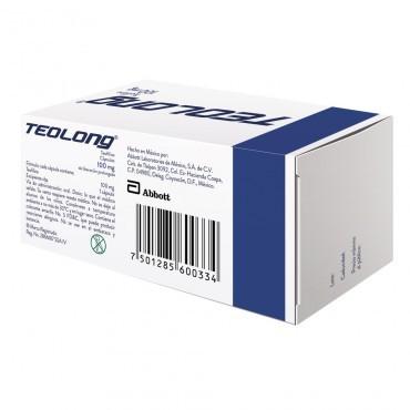 Teolong 100 mg Caja Con 20 Capsulas