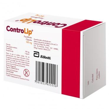 ControLip 160 mg Caja Con 15 Capsulas