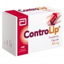 Controlip 160 mg Caja Con 30 Capsulas