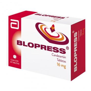 Blopress 16 mg Caja Con 28 Tabletas
