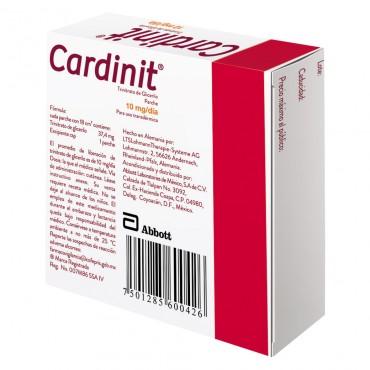 Cardinit 10mg/dia Caja Con 7 Parches