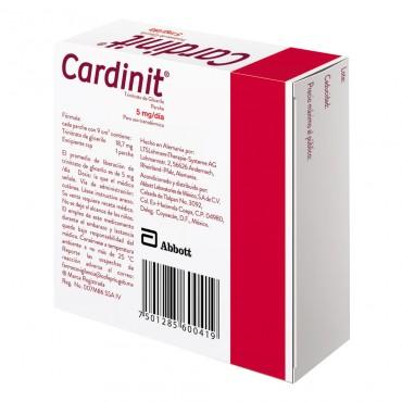 Cardinit 5mg/dia Caja Con 7 Parches