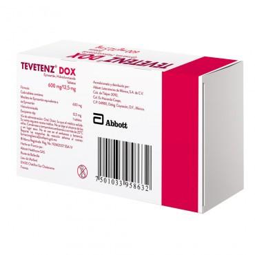 Tevetenz Dox 600 / 12.5 mg Caja Con 14 Tabletas