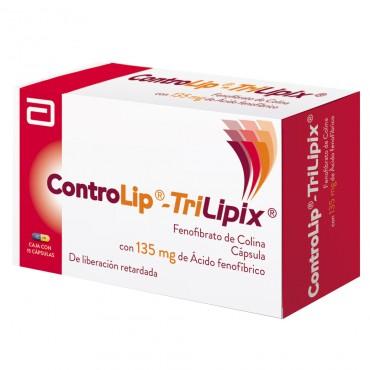Controlip Trilipix 135 mg Caja Con 15 Capsulas