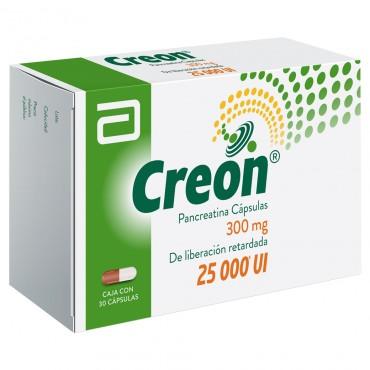 Creon 300 mg Caja Con 30 Capsulas