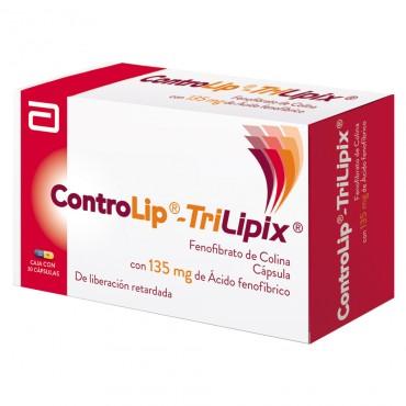 Controlip Trilipix 135 mg Caja Con 30 Capsulas