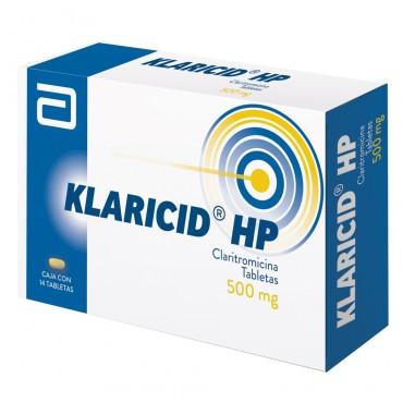 Klaricid HP 500 mg Caja Con 14 Tabletas -RX2