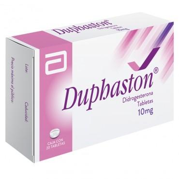 Duphaston 10mg Caja Con 20 Tabletas