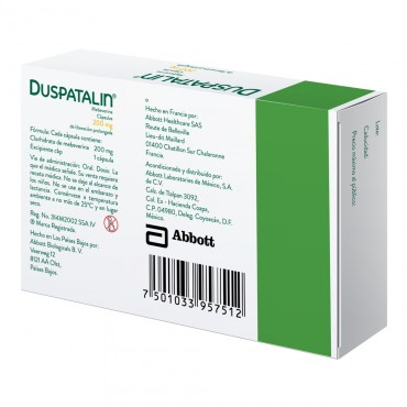 Duspatalin 200 mg Caja Con 14 Capsulas