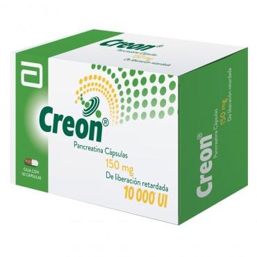Creon 150 mg/10000UI Caja Con 50 Capsulas