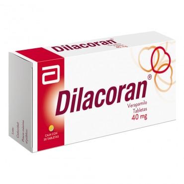 Dilacoran 40 mg Caja Con 30 Tabletas