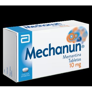 Mechanun 10 mg Caja Con 28 Tabletas