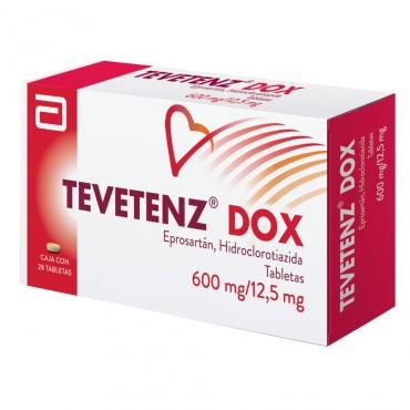 Tevetenz Dox 600mg/12.5mg Caja Con 28 Tabletas