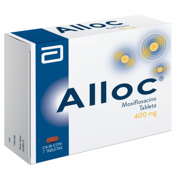 Alloc 400 mg Caja Con 7 Tabletas