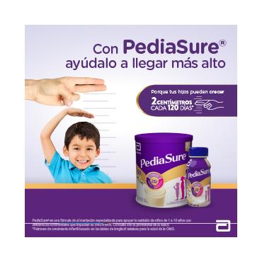 Pediasure Alimentacion Especializada para Niños de 1 a 10 Años - Vainilla - 237 mL - 24 piezas