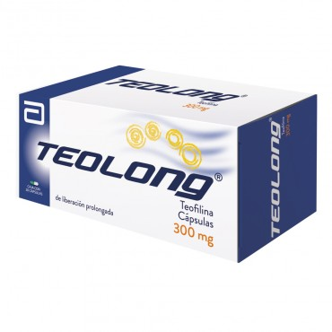 Teolong 300 Mg Caja Con 20 Capsulas