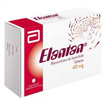 Elantan 40 mg Caja Con 30 Tabletas