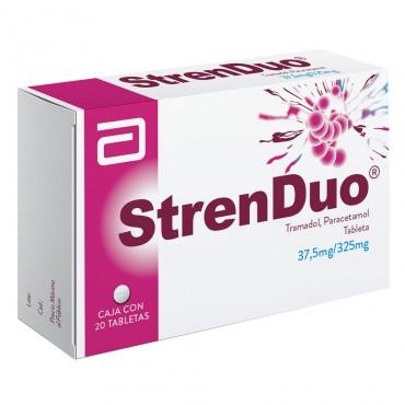 Strenduo 37.5 mg / 325 mg Caja Con 20 Tabletas