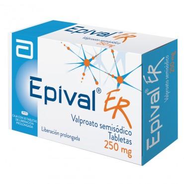 Epival ER 250 mg Caja Con 30 Tabletas
