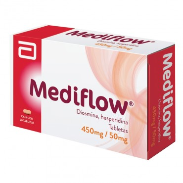 Mediflow 450 mg /50 mg Caja Con 20 Tabletas
