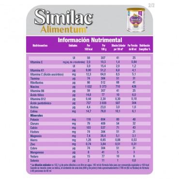 Alimentum Formula Infantil con Proteina Hidrolizada y Hierro para Bebes de 0 a 12 Meses - 400g